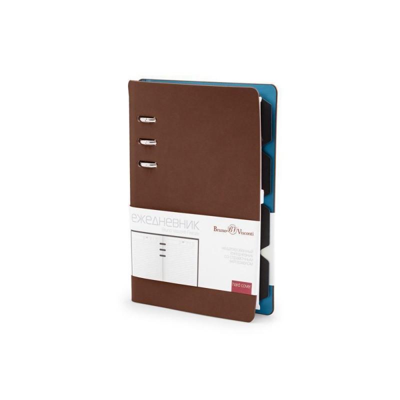 Ежедневник недатированный А5 «Firenze» коричневый