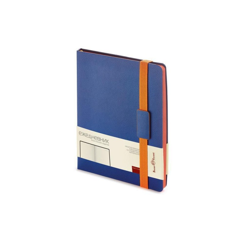 Ежедневник В5 недатированный «Leggenda» синий