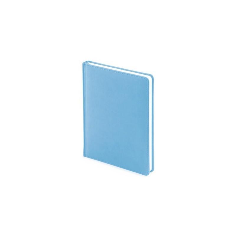 Ежедневник недатированный А6+ «Velvet» небесно-голубой